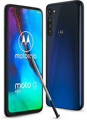 """New Motorola Moto G Pro Mystic Indigo 6.3"""" 128GB Dual SIM Andriod 10 Unlocked £226.39 technolec_uk eBay"""
