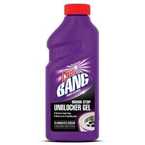 Cillit Bang Power Cleaner Odour Stop Unblocker Gel (Pack of 5) £10 Amazon Prime / £14.49 Non Prime @ Amazon