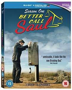 Better Call Saul Season 1 (Blu-ray) £1.90 (+£4.49 non Prime) Delivered @ Amazon