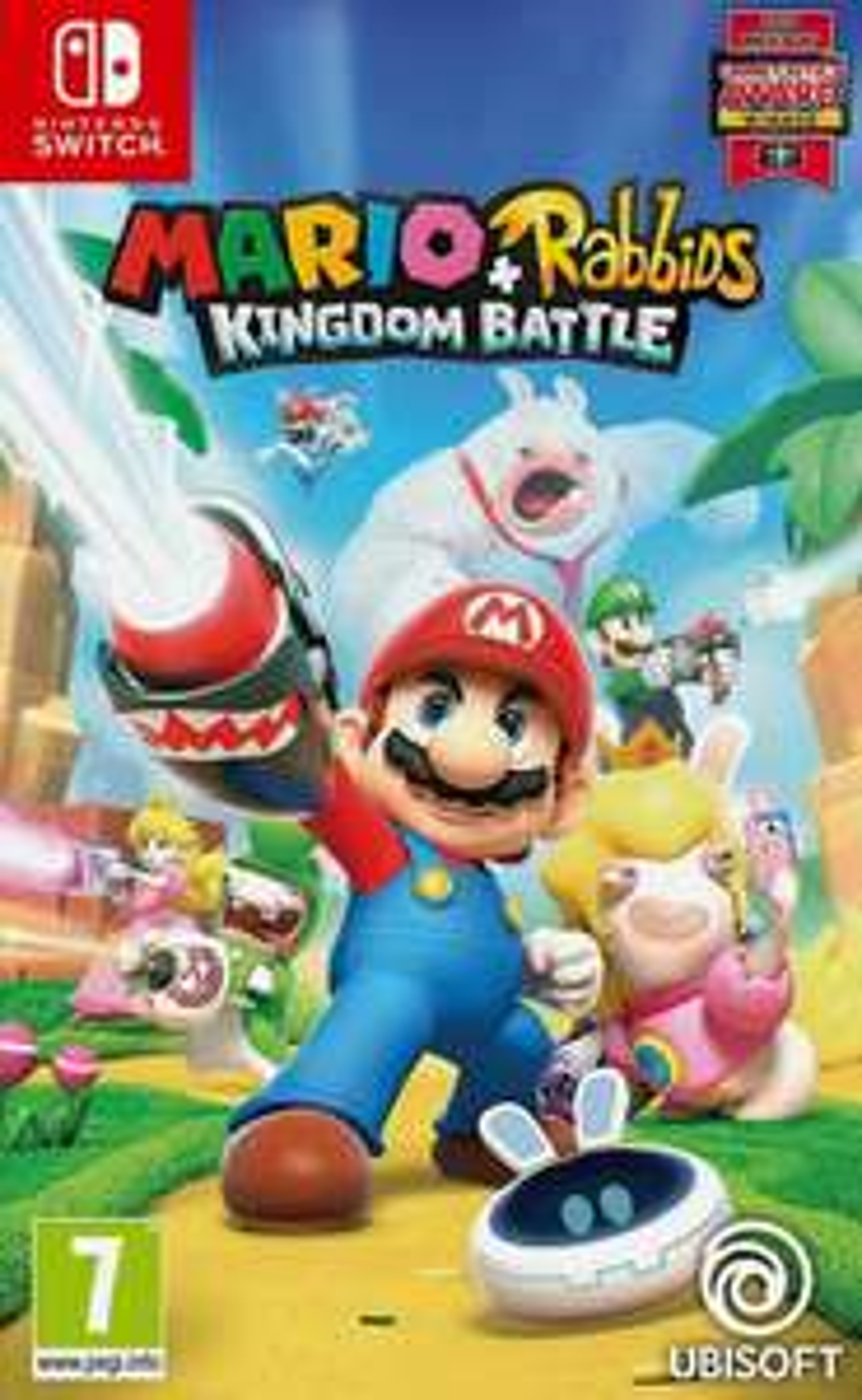 Mario + Rabbids: Kingdom Battle Nintendo Switch Game £16.76 using code @ TheGameCollectionoutlet / eBay