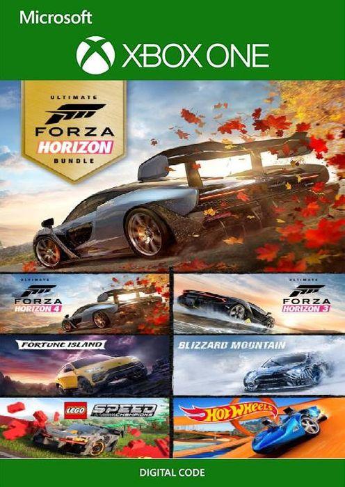 Forza Horizon 4 & Forza Horizon 3 Ultimate Editions Bundle - Xbox One/PC (UK) - £42.99 at CD Keys