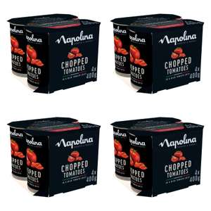 Napolina Chopped Tomatoes (4x400g) - 4 packs (16 cans in total) for £3 @ Morrisons