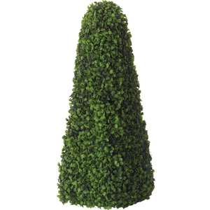 Artificial Topiary Obelisk - 60cm or Topiary Buxus Ball - 40cm for £10 @ Homebase (free click and collect)