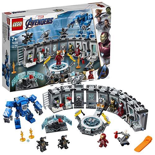 LEGO Marvel Avengers 76125 Iron Man Hall of Armor, Modular Lab with 6 Marvel Universe Minifigures - £44 @ Amazon