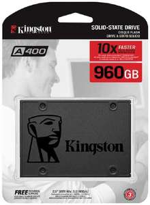 Kingston SA400S37 / 960GB Solid State Drive (2.5 inches) SATA 3 - £78.96 delivered @ CCLOnline