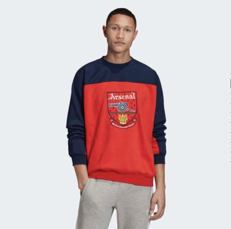 Arsenal Trefoil Crewneck Sweatshirt £44.60 @ Adidas