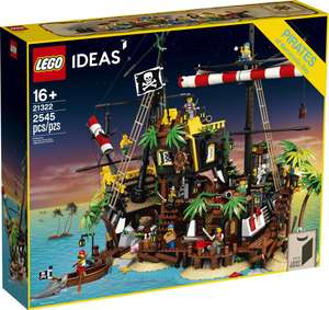 LEGO IDEAS 21322 Pirates of Barracuda Bay £152.99 with code for My JL card holders @ John Lewis & Partners