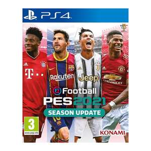 eFootball PES 2021 Season Update (PS4) £22.95 delivered at The Game Collection