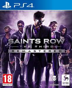 Saints Row The Third Remastered (PS4) - £17.50 delivered @ CoolShop