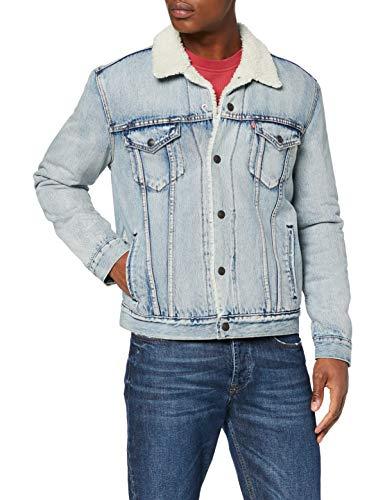 Levi's Men's Type 3 Sherpa Trucker Denim Jacket XL £42.76 delivered at Amazon