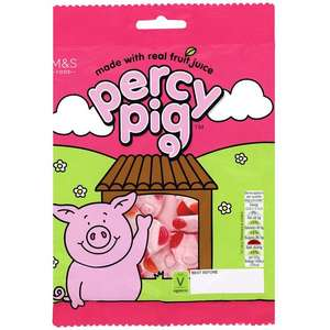 Receive a pack of Percy Pigs for free with all orders @ Ocado
