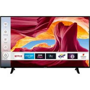 Techwood 55AO9UHD 55 Inch TV Smart 4K Ultra HD, Dolby Vision, HDR10, Alexa - £303.05 with code at AO/ebay