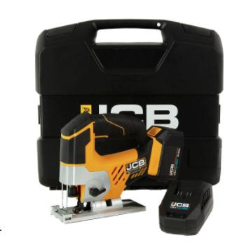 JCB 18V Cordless Jigsaw 5Ah battery & charger JCB-18JS-5 - £30 Instore & B&Q Derby