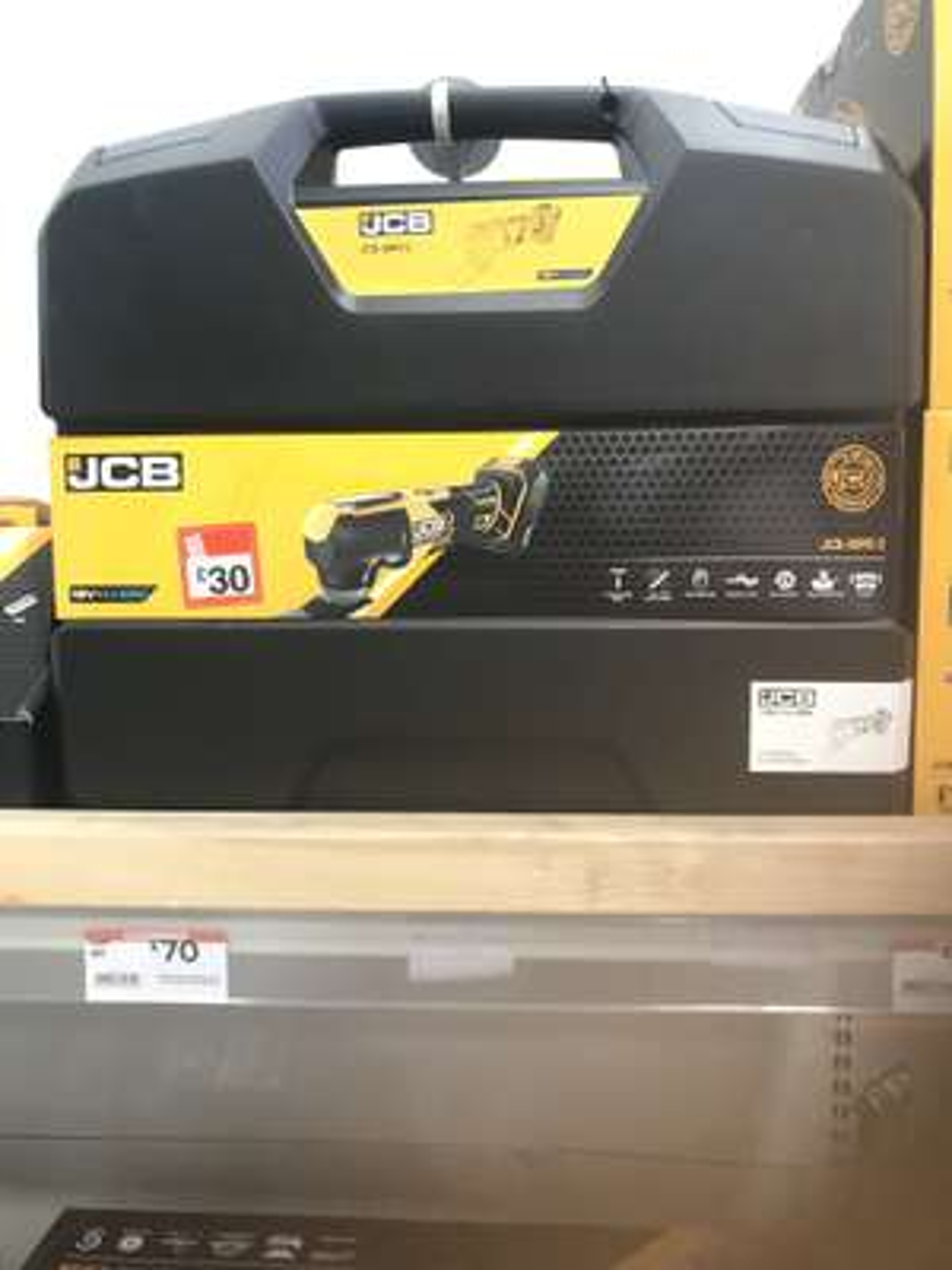 JCB Cordless Multi-cutter tool 18V 5Ah £30 @ B&Q (Derby)