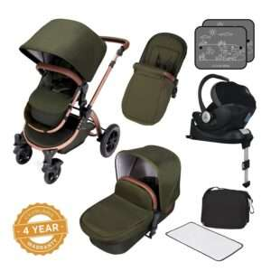 Ickle Bubba Stomp V4 Special Edition - Travel system with isofix base and car seat £499 @ Ickle Bubba