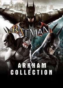 [Steam] Batman: Arkham Collection (PC) - £5.40 @ Instant Gaming