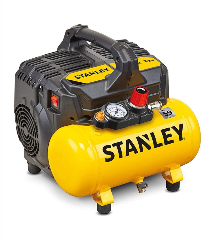 Stanley silent compressor - £119.01 / £115.79 w/fee free card @ Amazon Germany