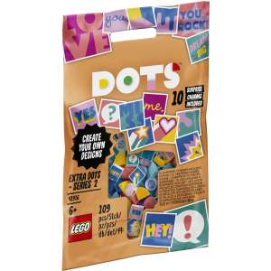 Free LEGO Dots Extra Dots series 1 or 2 when you buy two bracelets @ Argos (free C&C or £3.95 delivery)