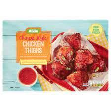 ASDA Chinese Chicken Thighs 800g £1.25 / Large Buffalo Hot Wings 900g £1.50 @ Asda