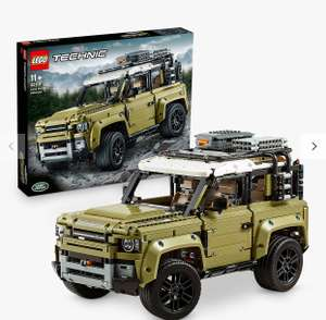 LEGO Technic 42110 Land Rover Defender for £107.94 using code (John Lewis Members only) at John Lewis & Partners