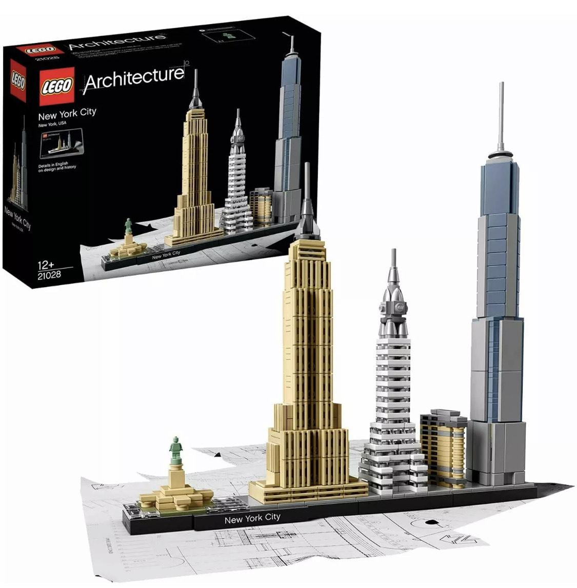 Lego Architecture 21028 New York City £32.99 @ velocityelectronics eBay