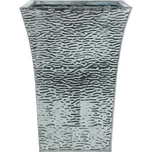 Marrakech Metal Flare Planter in Silver - £5 @ Homebase (In Store)