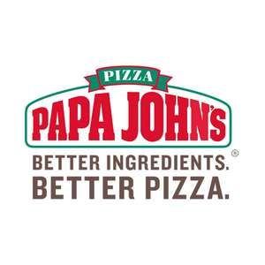 Buy one pizza get one free at Papa Johns