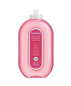 25% off on some Method products e.g Method Rhubarb All Purpose Floor Cleaner £3.08 + £5 del Free over £55 @ Big Green Smile