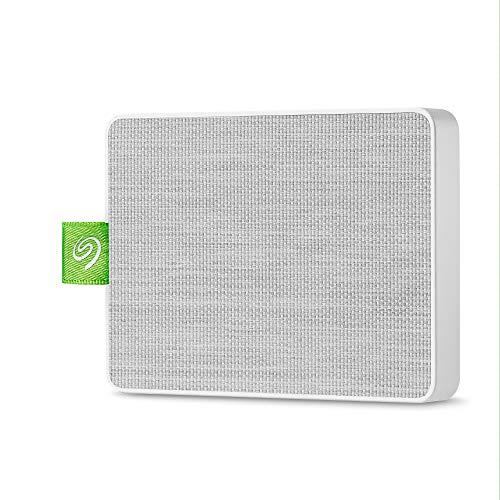 """Seagate Ultra Touch SSD Portable External SSD 1TB 2.5"""" USB 3.0 PC & Mac White £78.88 @ Amazon"""
