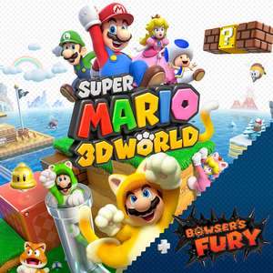 2 For £84 on Nintendo Switch games for members - Includes Super Mario 3D All-Stars & Super Mario 3D World + Bowser's Fury @ Nintendo eShop