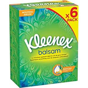 Kleenex Balsam 6 Box Pack of 64 Sheets - £4.66 In Store & Members Only @ Costco (Found Bristol - Confirmed Nationwide)