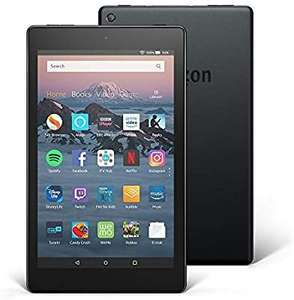 Amazon Refurbished Fire HD 8 Tablet 16 GB, Black - with Special Offers - £36.99 @ Amazon