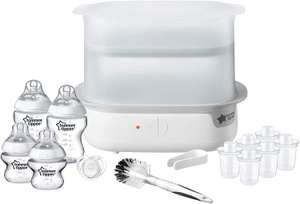 Tommee Tippee Super Steam Electric Steam Steriliser Set with 4 bottles - £34.99 @ Amazon