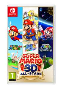 Super Mario 3D All-Stars on Nintendo Switch - £44.85 delivered @ Simply Games