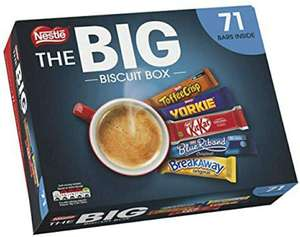 NESTLÉ The Big Biscuit Box 71 Chocolate Biscuit Bars £10.59 Delivered @ Amazon / Sold by Wiser Buyer