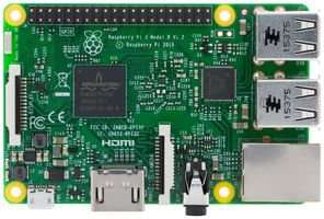 Raspberry Pi 3 Model B Quad Core CPU 1.2 GHz 1 GB RAM Motherboard £24.99 delivered at Amazon