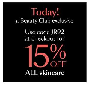 15% Off All Skincare, Free Delivery & Triple Beauty Club Points @ Debenhams