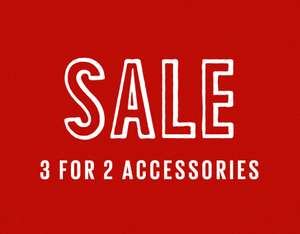 Fat Face up to over 50% off and 3 for 2 on selected accessories Belts, Wallets, Scarfs, Socks @ Fat Face (£2.95 Delivery / Free over £50)