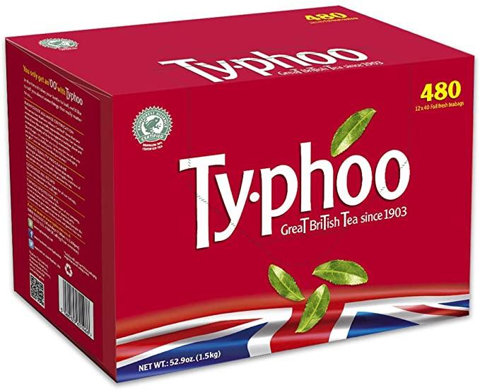 480 Typhoo Tea Bags1396g £3.50 in Morrisons Basingstoke
