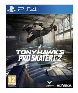 Tony Hawk's Pro Skater 1 + 2 (PS4 Game) £31.96 @ The Game Collection / eBay