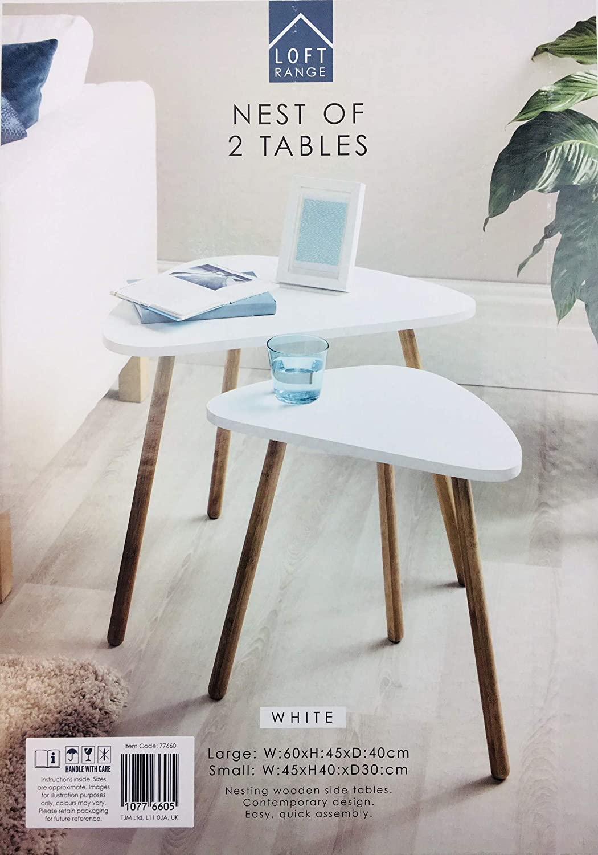Loft Range Nest Of Two Tables £19.99 instore @ Home Bargains (Poole)