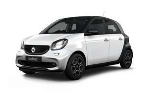 Smart Forfour Electric EQ Passion 5dr Auto, 36months, 5kpa £154.62 + £154.62 pm + £180 admin Total £5746.32 - Central Vehicle Leasing