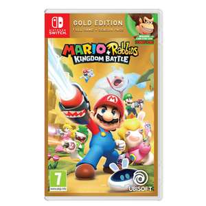 Mario + Rabbids Kingdom Battle Gold Edition - Nintendo Switch £19.96 delivered with code @ eBay The Game Collection