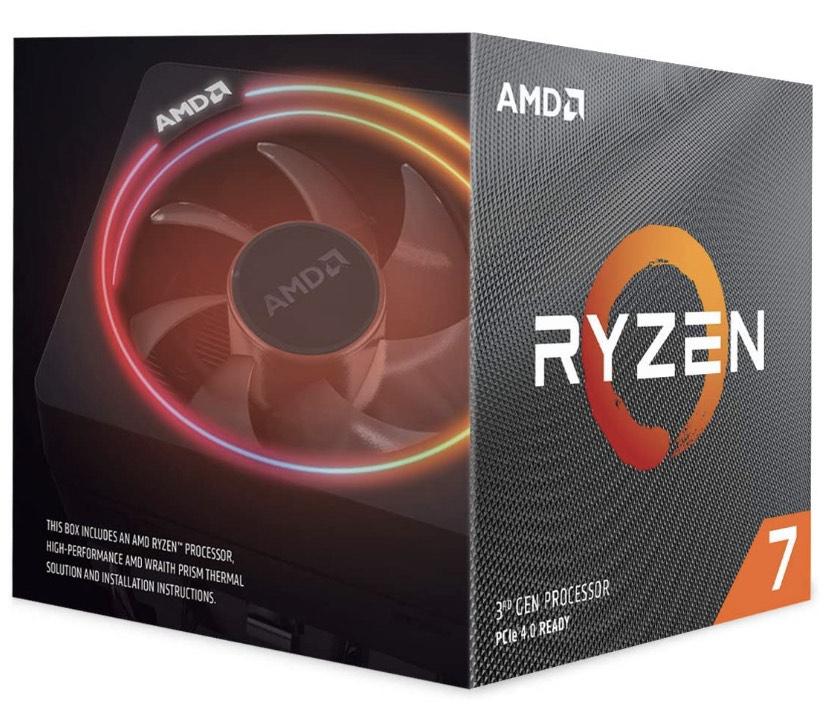 AMD Ryzen 7 3700X Processor (8C/16T, 36 MB Cache) (Free Assassin's Creed Valhalla) - £275.49 @ Amazon