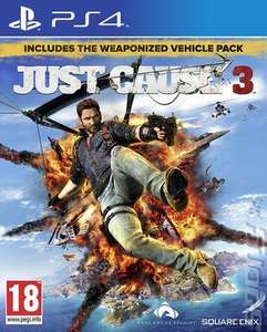 Just Cause 3 (PS4) pre-owned - £3.86 with code delivered @ MusicMagpie