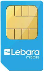 Lebara (uses Vodafone) sim only - 2GB data +1000 minutes +1000 texts + 100 international minutes for £5 per month (30 days)