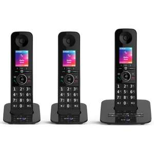 BT Premium Cordless Home Phone Triple - Free Delivery + extra 10% for new customers £69.38 at Staples UK