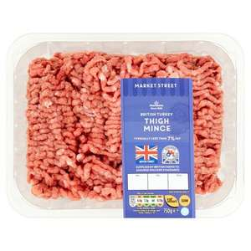 Morrisons Market St Turkey Thigh Mince (750gx3=2250g) - £4/kg - £9 @ Morrisons