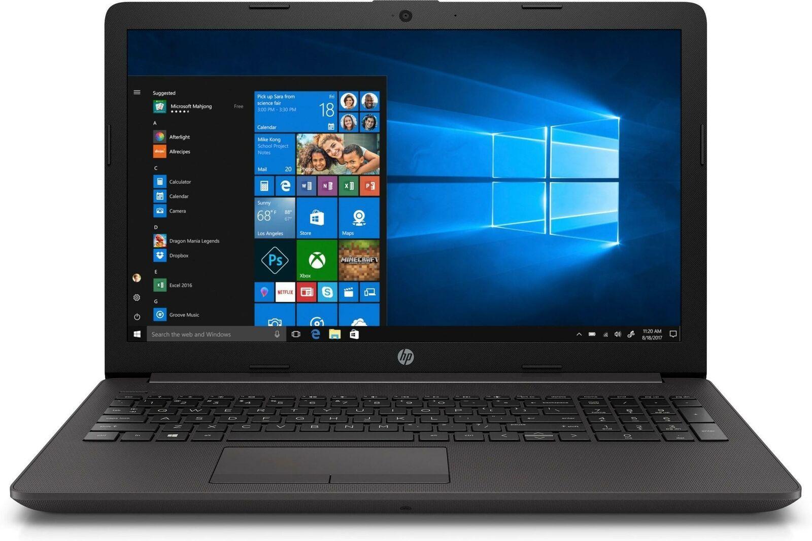 """HP 250 15.6"""" Intel Core i5 8GB RAM 256GB SSD Windows 10 Pro Black £482.49 @ ebay box-deals"""