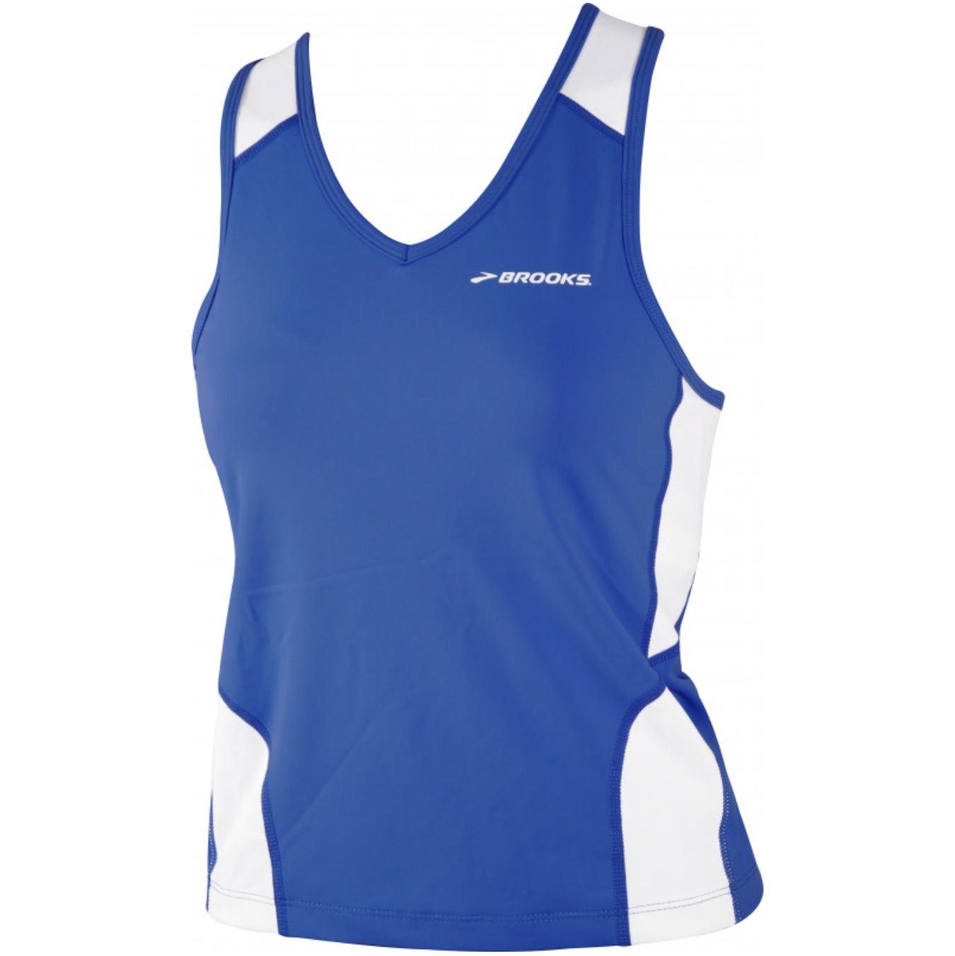 Brooks Mach IX Womens Running Vest Tank Top blue - £3 / £5.95 delivered ** sizes small &medium left @ Start Fitness